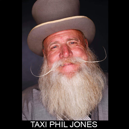Taxi Phil, legendary moustache champion & sponsored ambassador MEAN BEARD Co. Stand with Purpose. Grow a MEAN BEARD. An exceptional beard care line offering the World's MEANest Beard Oil, Beard Balm and one of a kind Beard Enhancer MEAN WHIP. Join the MEAN BEARD Community and Ambassador Program.  Follow us on Instagram. Use #MEANBEARD to be featured.