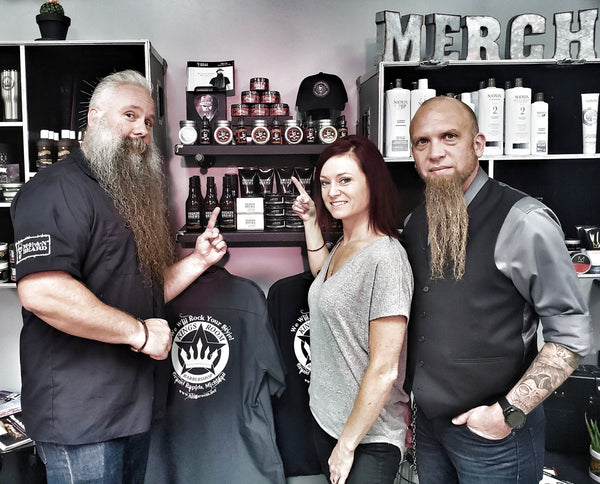 Joe Loving, Managing Partner at MEAN BEARD and Kings Room Barbershop
