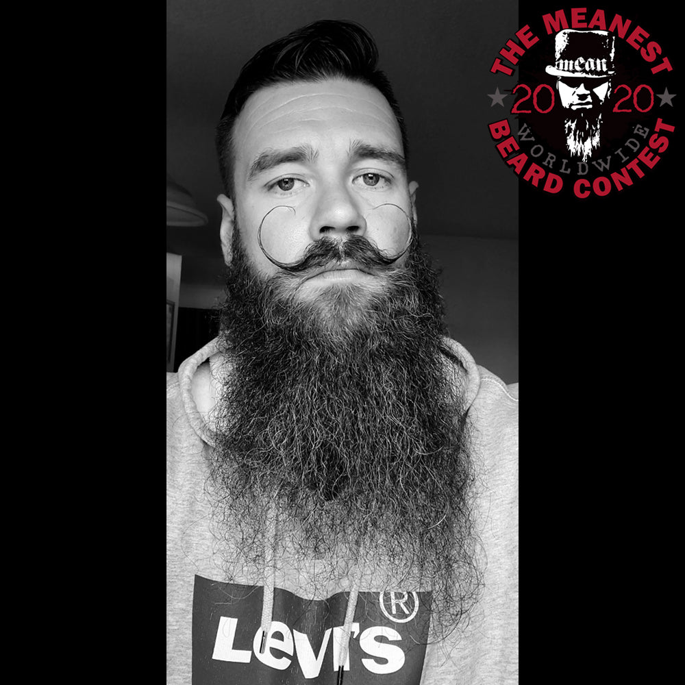 Contestants 33 to 40 in the 2020 MEANest BEARD Worldwide Contest