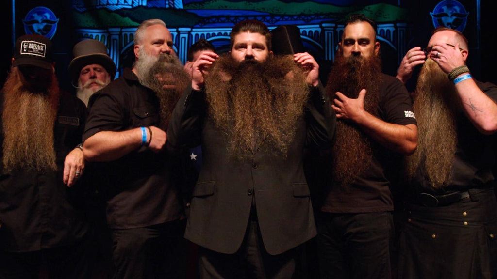 FEAR THE BEARD on E:60 ESPN May 5th with the MEAN TEAM an introduction to the world of competitive bearding.