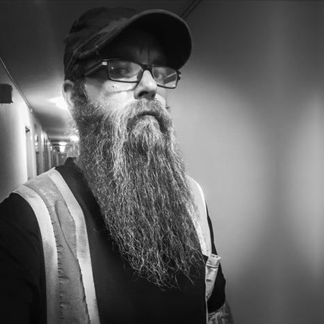 Judge Matt Stock 2019 MEANest BEARD Worldwide Contest by MEAN BEARD
