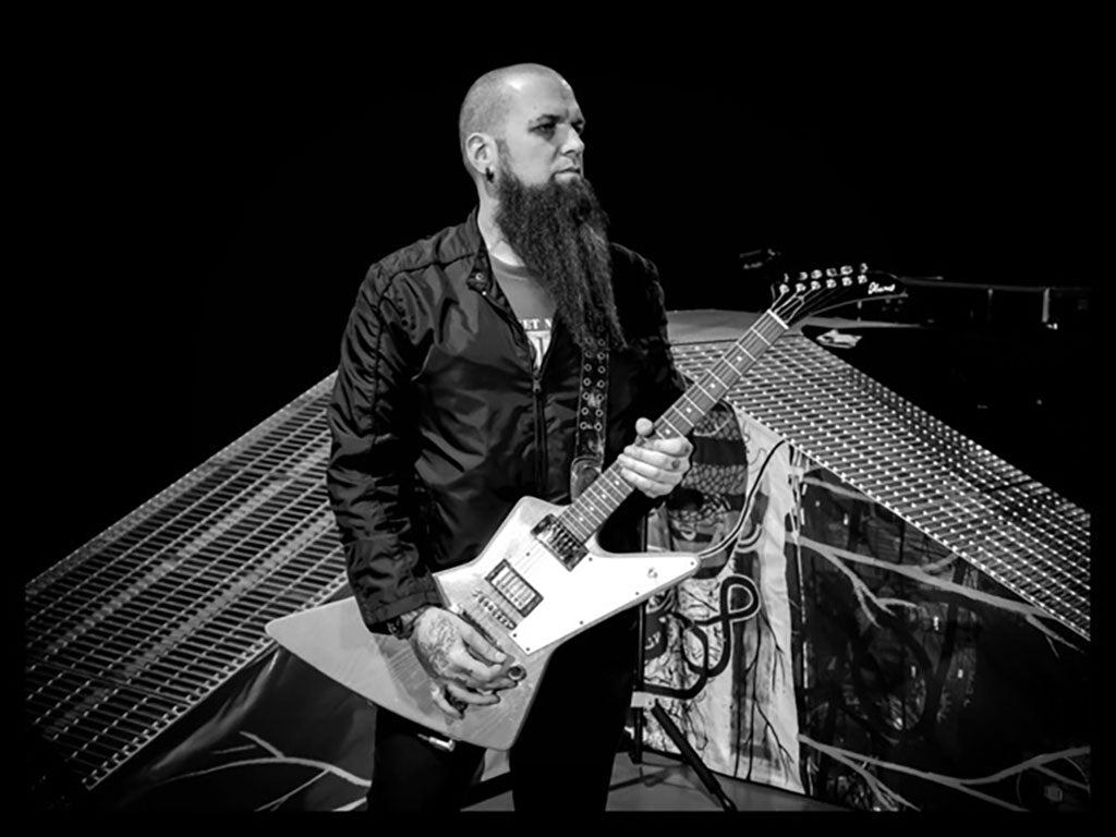 MEAN BEARD Founder & Owner Barry Stock, Guitarist with Three Days Grace.  MEAN BEARD Company.  Best beard oil.  Best beard company. Best beard products.  Made in USA.