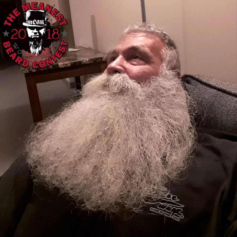 Scott Bradley - The TOP 12 MEANest BEARDS in the world for 2018. The 2018 MEANest BEARD Worldwide Contest. 141 contestants from 19 countries.  Best beards with a MEAN attitude.  MEAN BEARD Co.
