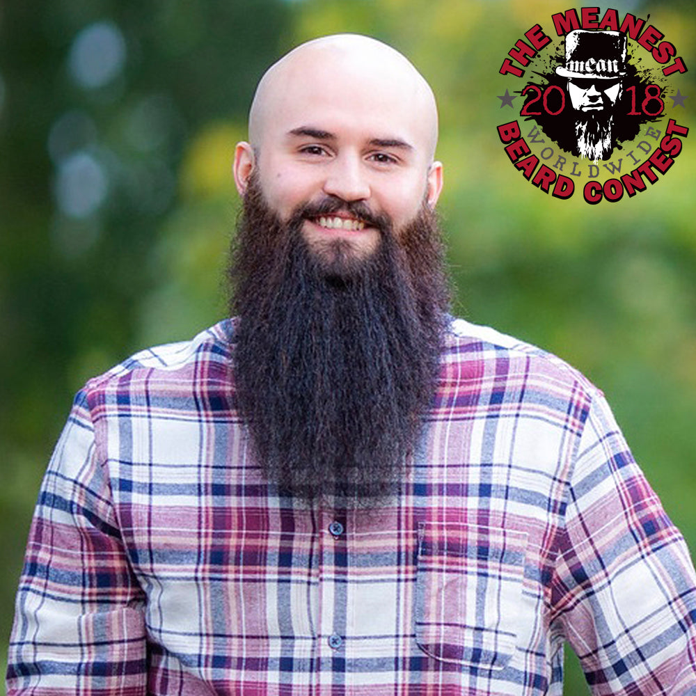 MEAN BEARD Contestant 2018 MEANest BEARD Worldwide Contest by MEAN BEARD.