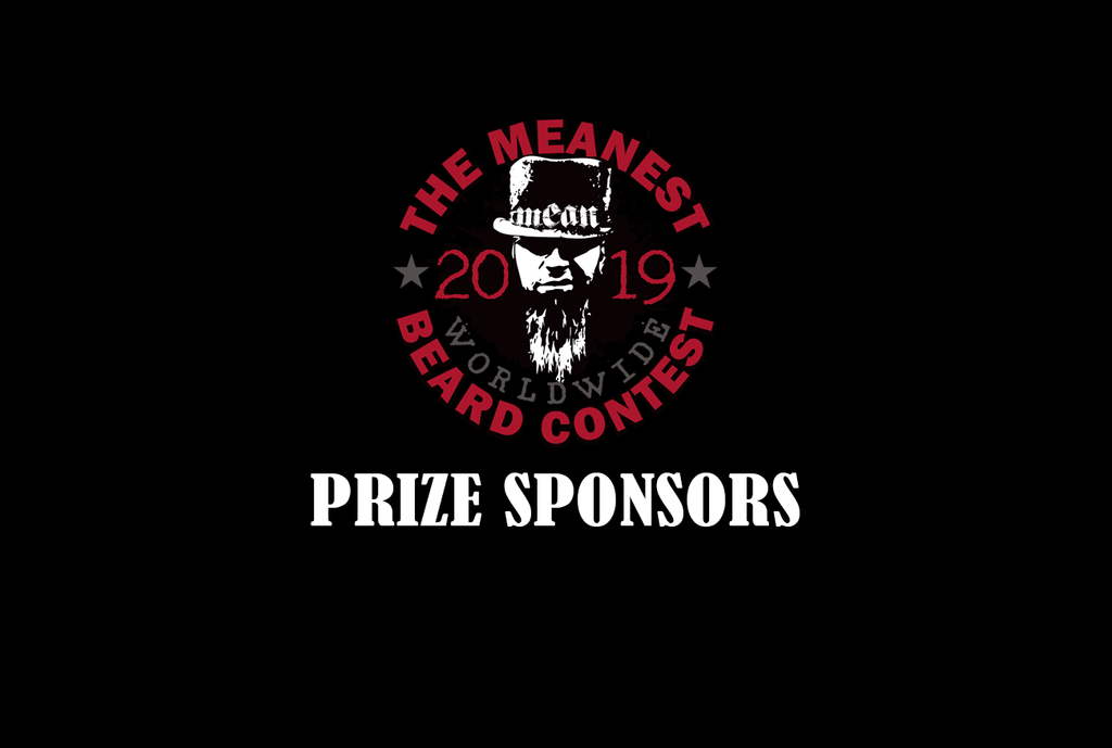 Prizes Sponsors 2019 MEANest BEARD Worldwide Contest