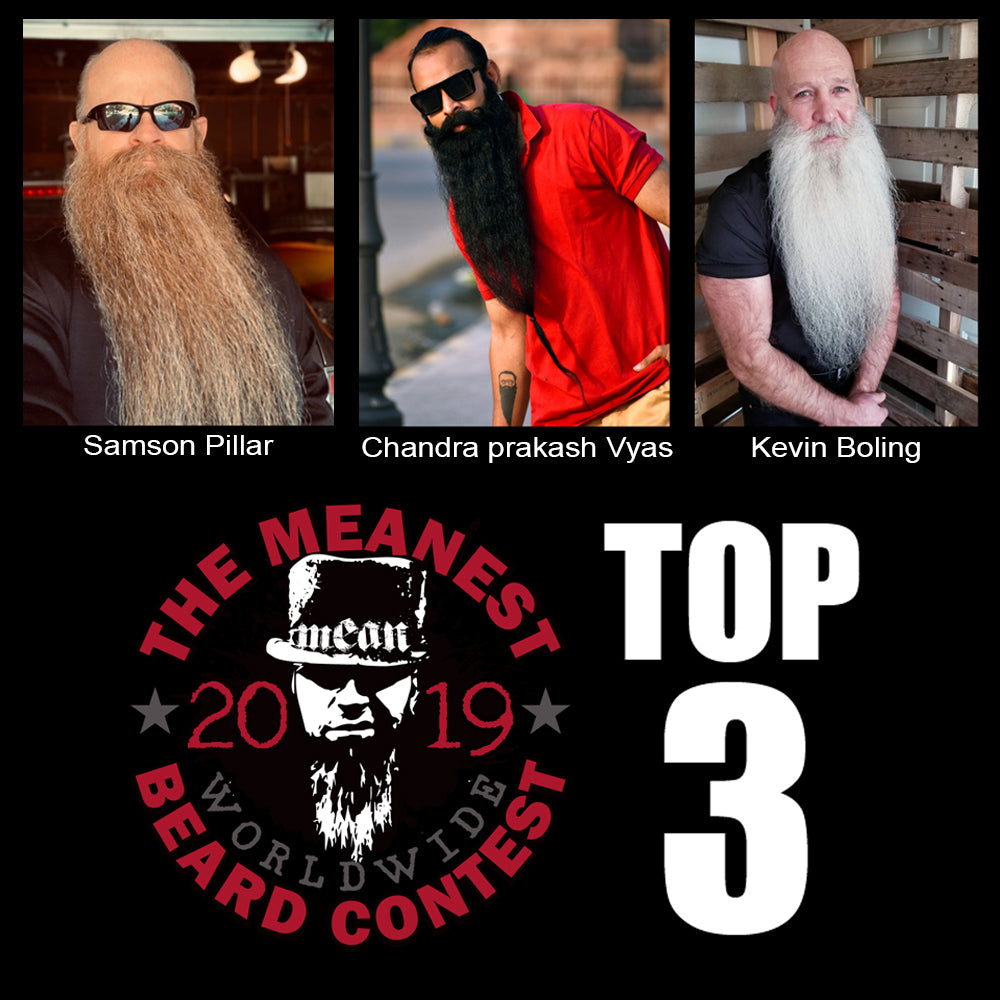 The Top 3 MEANest Beards of 2019