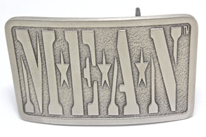 MEAN Pewter Belt Buckle