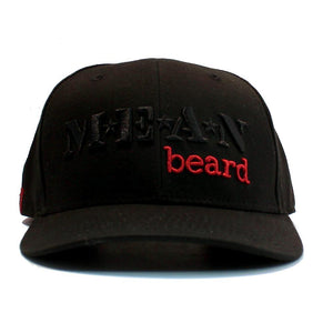 MEAN beard Embroidered Adjustable Hat