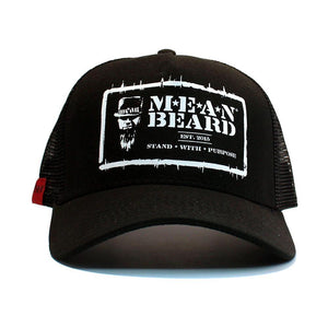 MEAN BEARD Stand with Purpose Adjustable Trucker Hat