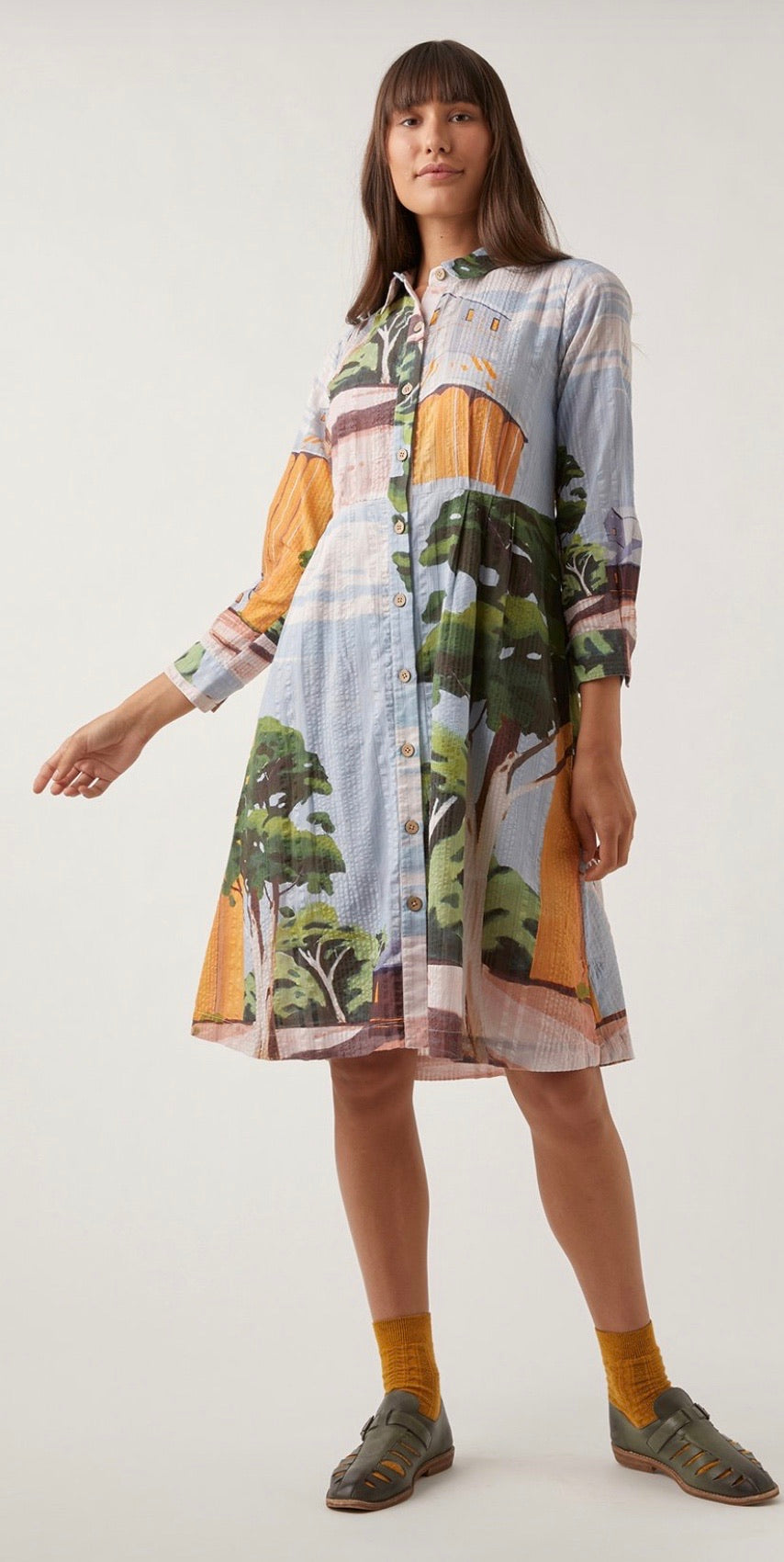 Nancybird Daze Shirt Dress