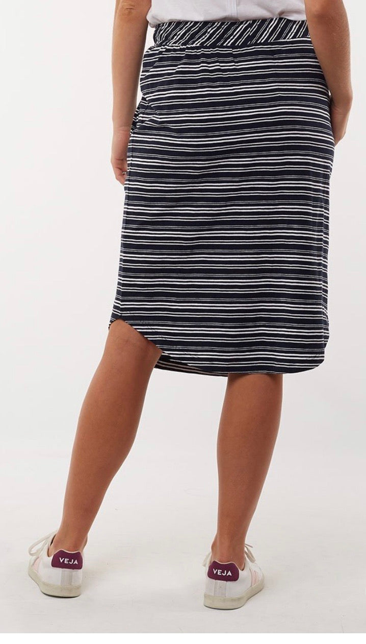 Elm Isla Stripe Skirt