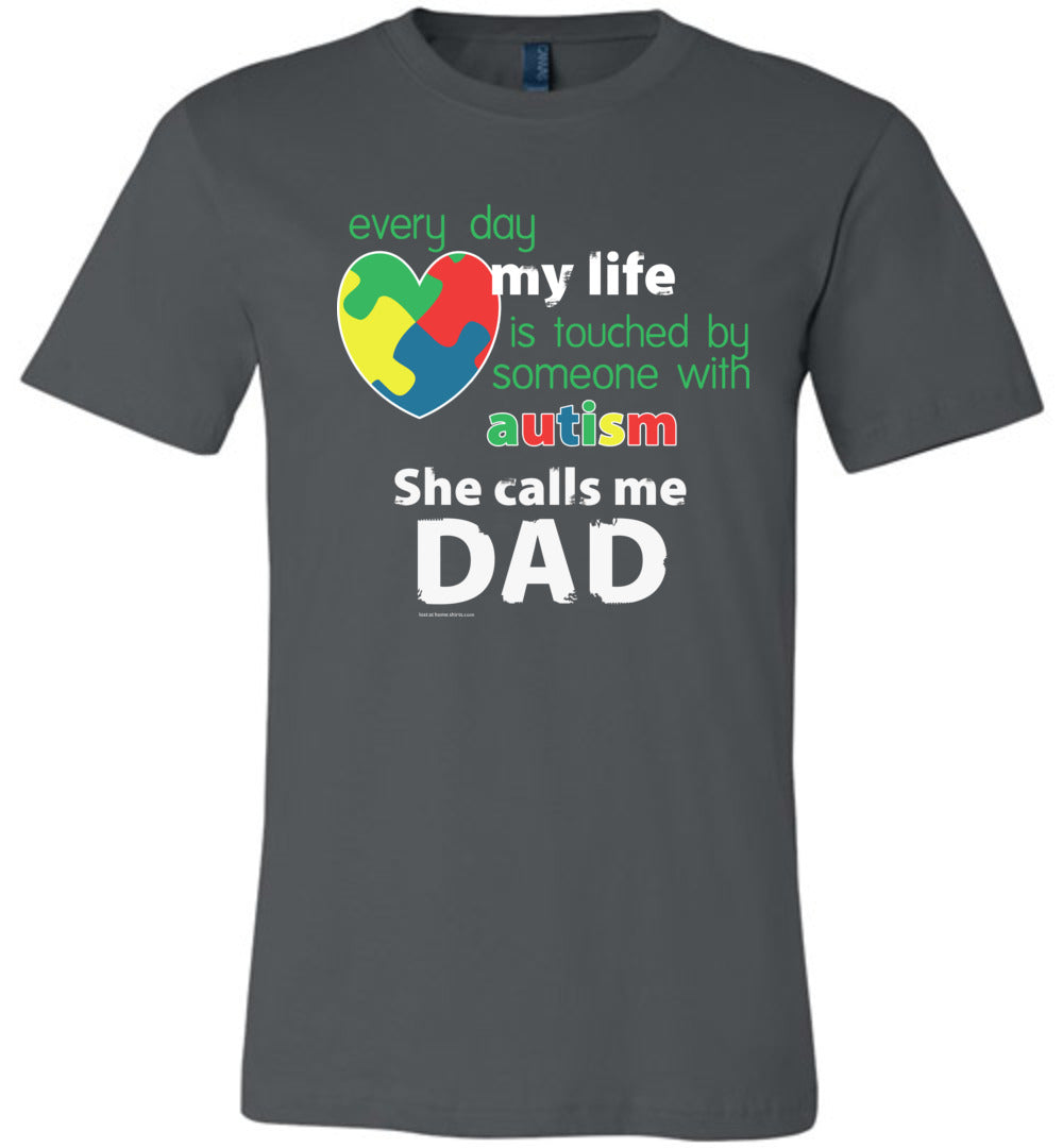 Autism Awareness - She Calls Me Dad
