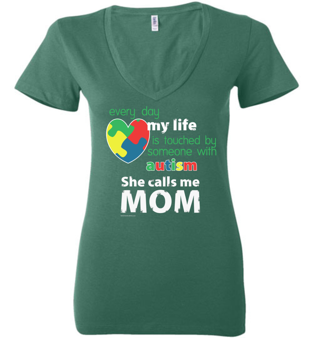 Autism Awareness - She Calls Me Mom