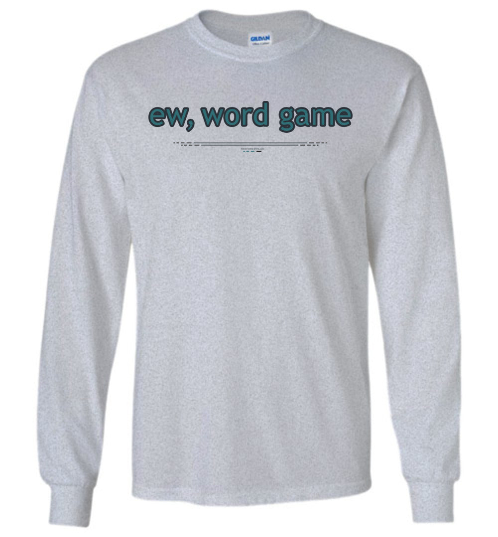 ew, word game