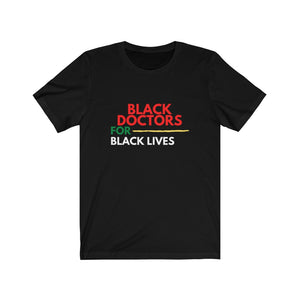 Open image in slideshow, [NEW] black doctors for black lives tee