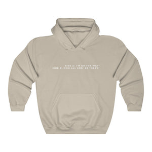 Open image in slideshow, side a/b hoodie