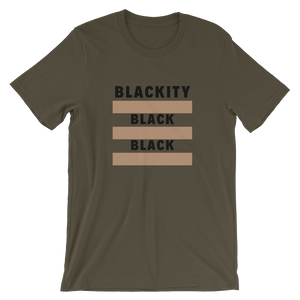 Open image in slideshow, blackity black black tee