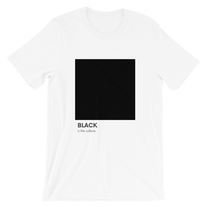 Open image in slideshow, [RESTOCKED] black is culture tee