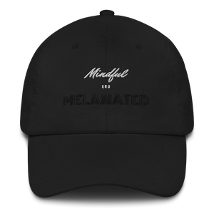 Open image in slideshow, mindful + melanated dad hat