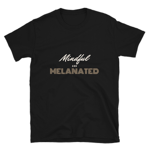 Open image in slideshow, mindful + melanated tee