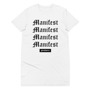 Open image in slideshow, manifest t-shirt dress