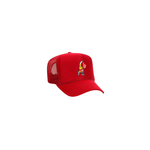 CHUGBUD Logo Trucker Hat (Red)