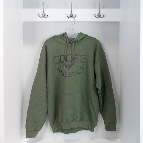 """Statement"" Hoodie - Military Green"