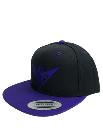 """Rival"" Snapback - Black/Purple"