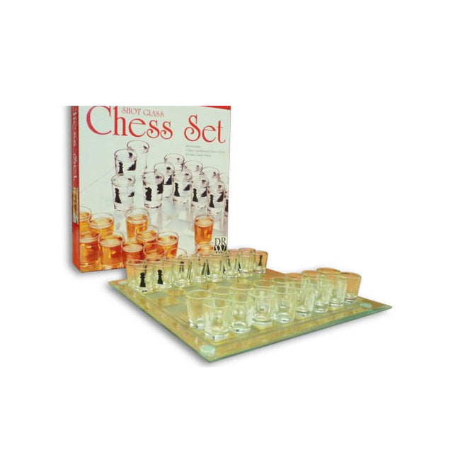 Drinking Game Collection - Shot Glass Chess Set
