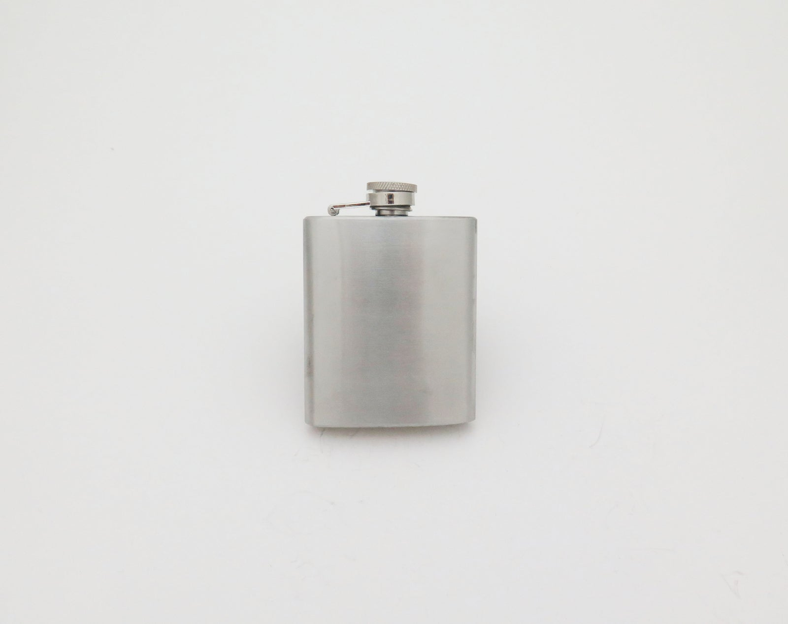 Plain Stainless Steel Hip Flask