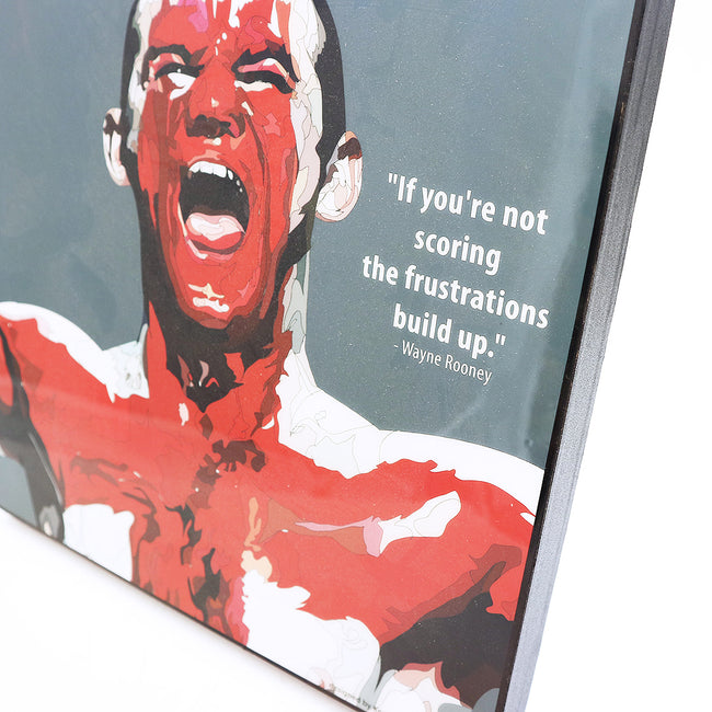 Football Player Wall Art - Wayne Rooney