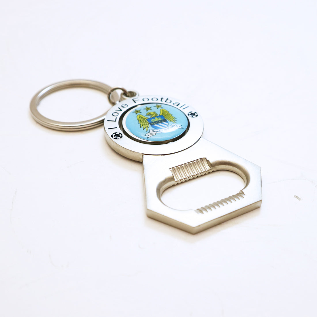 Football Club Key Opener - Bayern, Manchester City, Juventus, and Chelsea