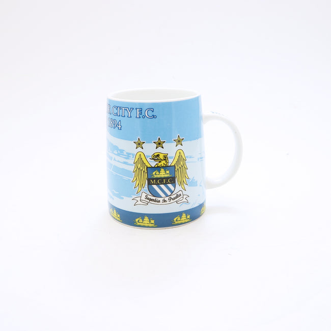 Football Club Mug - Manchester City, Manchester United, Real Madrid, Chelsea, Juventus, Barcelona, Arsenal