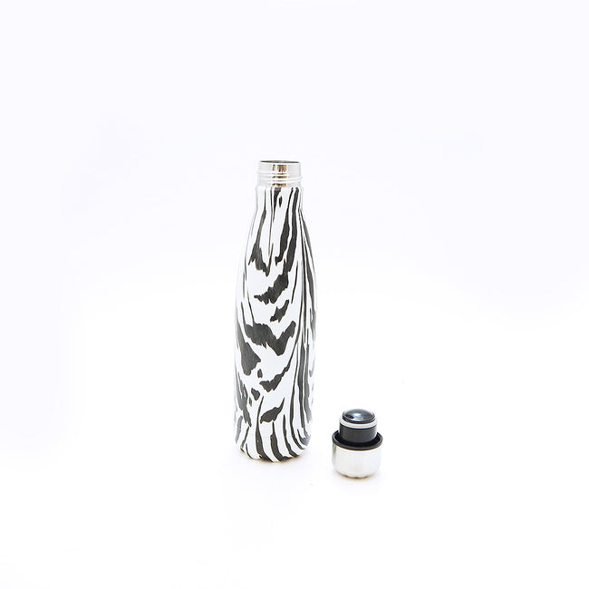 Fashion Water Bottle - Zebra