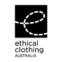 Certified by Ethical Clothing Australia