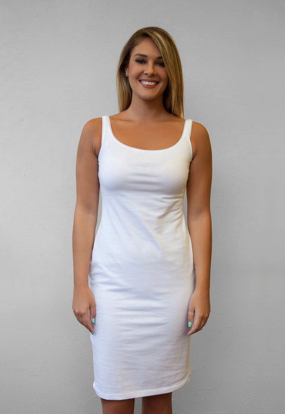 The Comfy Dress - White