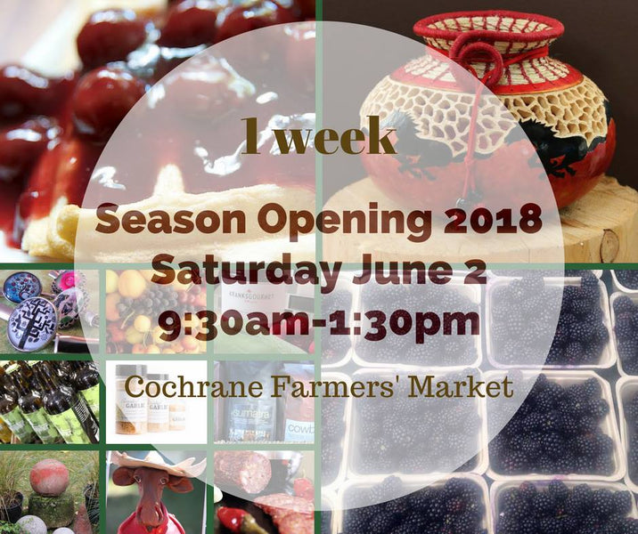 Cochrane Farmers' Market Starting this Weekend!