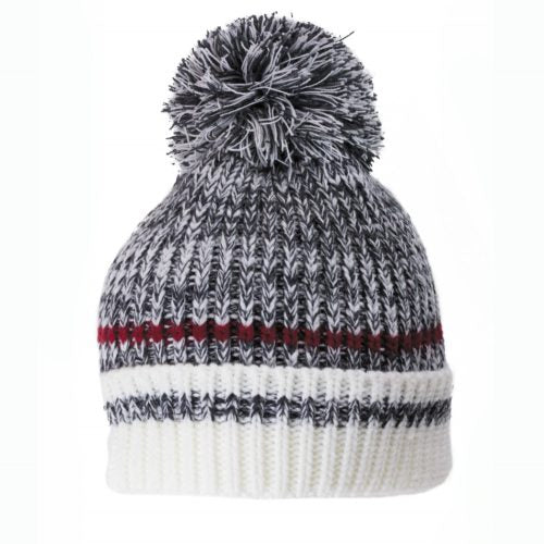 Dark Work Pompom Toque