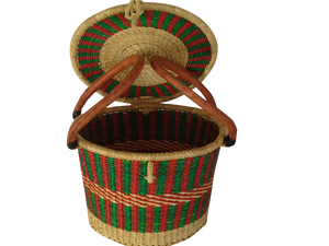 Fruit Basket with Lid