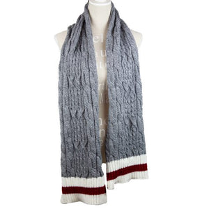 Cable Knit Work Collection Scarf