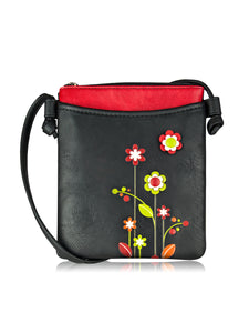 Gardenia Mini Handbag - Black