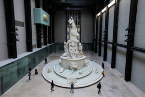 Tate Modern Unveils 42ft Jesmonite Fountain Telling History of Slavery