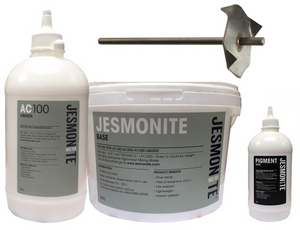 AC100 Starter Bundle (3.5kg Kit, 200g Pigment & Mixing Blade) - Buy Jesmonite