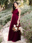 A-line Tulle Sleeveless Length-Length Simple Bridesmaid Dress, FC2329