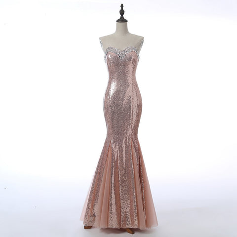 Long Prom Dresses, Sleeveless Prom Dresses, Mermaid Party Prom Dresses, Sequin Prom Dresses, Rhinestone Prom Dresses, Sexy Prom Dresses Online, LB0312