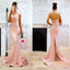 Halter Prom Dress, Mermaid Prom Dress, Backless Prom Dress, Lace Prom Dress, Sexy Prom Dress, Satin Prom Dress, D38