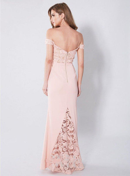 Long Prom Dresses, Jersey Prom Dresses, Mermaid Party Dresses, Off Shoulder Evening Dresses, Lace Prom Dresses , Pink Prom Dresses, Backless Prom Dress, LB0546