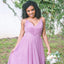 Long Bridesmaid Dress, Tulle Bridesmaid Dress, Spaghetti Straps Bridesmaid Dress, Floor-Length Bridesmaid Dress, Sleeveless Bridesmaid Dress, V-Back Bridesmaid Dress, LB0590