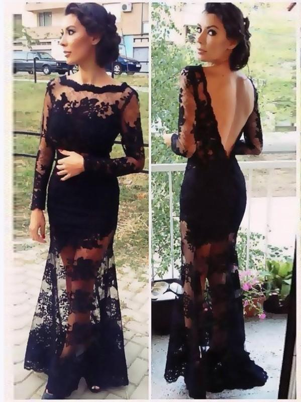 Long Prom Dresses, Lace Prom Dresses, Deep V-Back Party Prom Dresses, Tulle Prom Dresses, Applique Prom Dresses, Mermaid Prom Dresses Online, LB0636