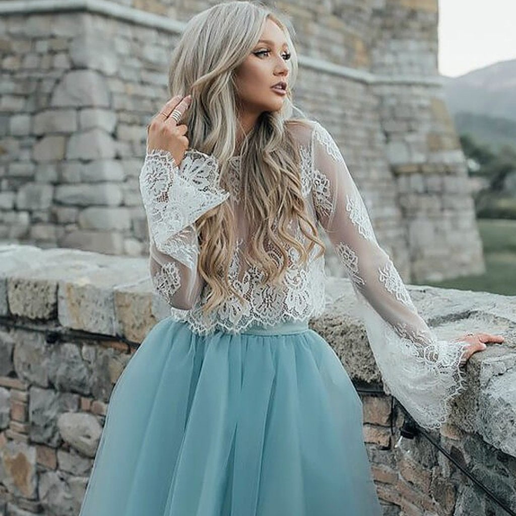 Short Homecoming Dress, Tulle Homecoming Dress, Lace Homecoming ...